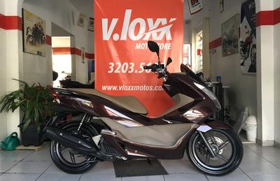 Honda Pcx 150 Marrom 2018