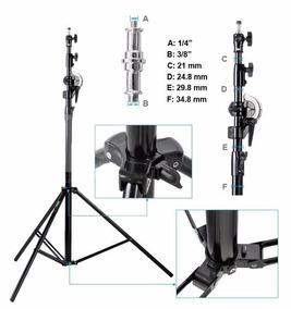 Acessorio Para Camera Tripe Profissional 014142 440 Cm A7620