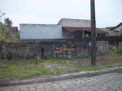 Terreno Residencial À Venda, Jardim Regina - Área Verde, Itanhaem. - Te0034