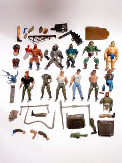 Lote De Figuras Y Accesorios : He Man , Rambo Y Mas