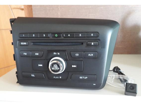 Radio Honda Civic Original Com Câmera De Ré 2015/2016