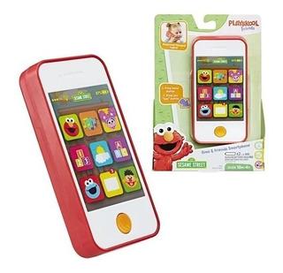 Celular De Juguete Smartphone Plaza Sesamo Elmo Y Amigos