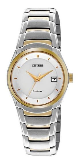 Nuevo Citizen Eco-drive Original Para Dama Ew1944-55a