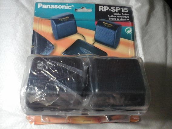 Caixinha De Som Panasonic Sterio Rp Sp15