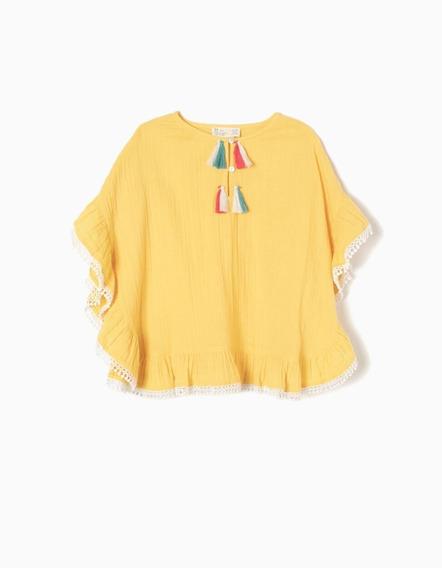 Poncho Infantil Menina - Zippy - Kid Girl - 6785800