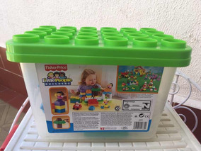 Legos De Little People Usado Con 20 Piezas Para Niños O Bebe