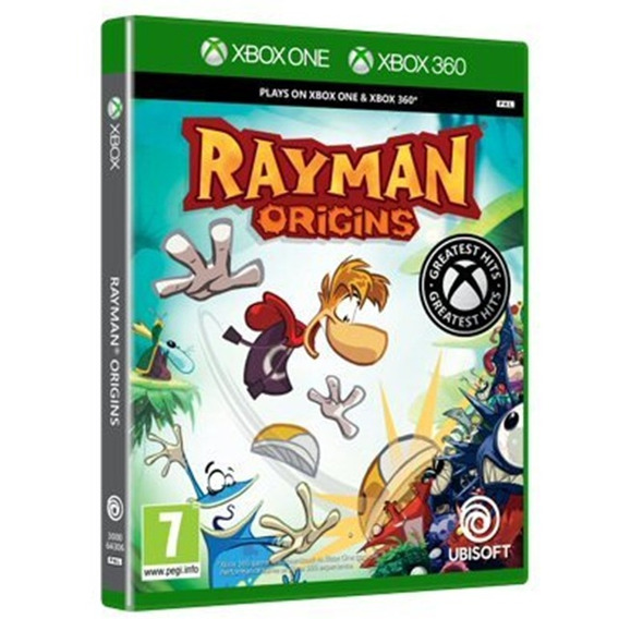 Jogo Rayman Origins Xbox One Mídia Física Lacrado Nacional