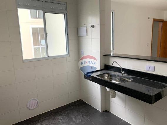Apartamento Com 2 Dormitórios À Venda, 42 M² Por R$ 185.000,00 - Parque Santa Rosa - Suzano/sp - Ap0296