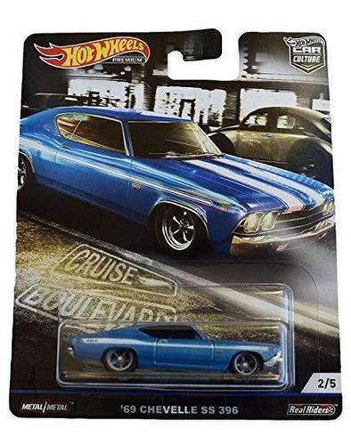 Imagen 1 de 2 de Hot Wheels Coche Cultura Crucero Boulevard 69 Chevelle Ss 39