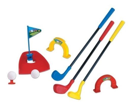 Jogo De Golfe Infantil Com Sacola Braskit