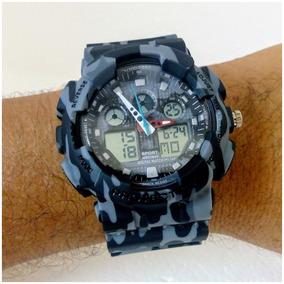 Relógio Masculino Sport Shock Militar Estilo Relógio G Shock