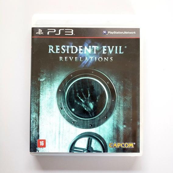 Resident Evil Revelations Ps3 Midia Física Legenda Português