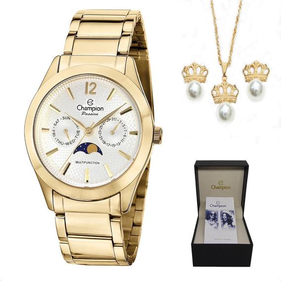 Relógio Champion Feminino C/ Nota Fiscal Original Sk05
