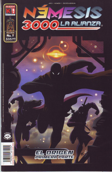 Comic Nemesis 3000 La Alianza # 1 Gratis El Cero Nuevo