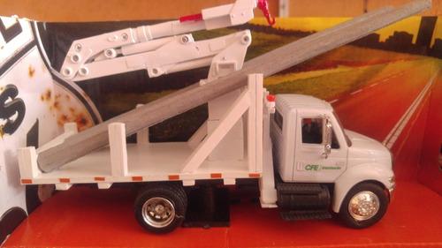 1:87 em4416 DAF CF 4 alineación camión me grúa y profundamente cargador rojo Herpa transformación construiste