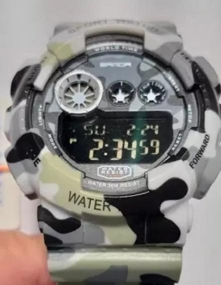 Relógio Militar, Original. Sandra, Multi-funções