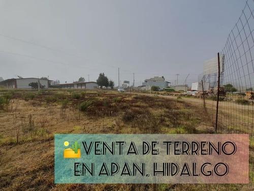 Terreno En Venta En Apan Hidalgo, A Un Costado De Itesa