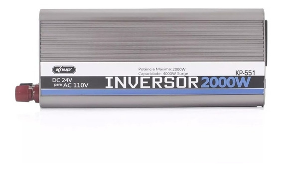 Inversor 2000w 24v Para 110v Kp551 Knup