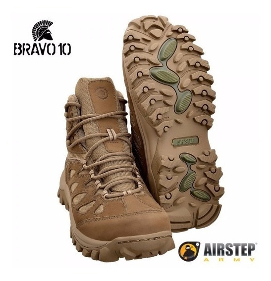Bota Airstep Bravo 10 Coyote Hiking