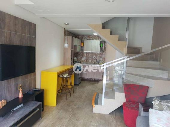 Casa Com 2 Dormitórios À Venda, 99 M² Por R$ 350.000,00 - Imbé - Imbé/rs - Ca3088
