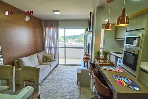 Apartamento À Venda, 67 M² Por R$ 389.000,00 - Casa Branca - Itapema/sc - Ap1875