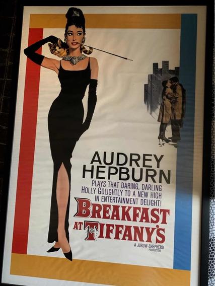 Quadro Audrey Hepburn Vintage Bonequinha De Luxo