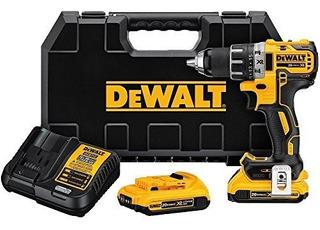 Dewalt 20v Max Cordless Drill / Driver Kit, Brushless, 1/2-