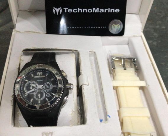 Relogio Masculino Technomarine Cronografo Esportiv + Nf
