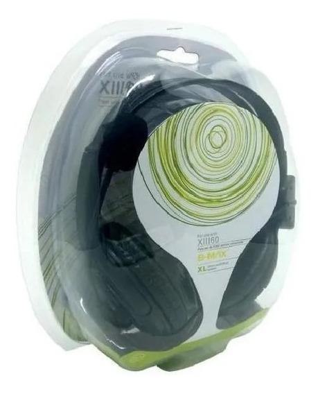 Fone Gamer Headset Para Xbox360 X11160 B-max