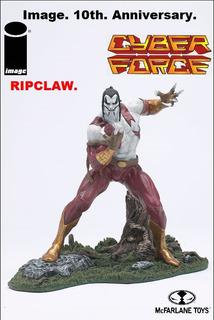 Ripclaw: Image. 10th. Anniversary. Mcfarlane Toys. 2002.