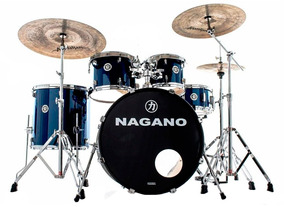 Bateria Acústica Nagano Garage Fusion 20 Blue Night