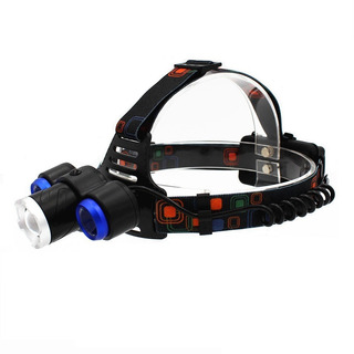 Linterna Led Cintillo Frontal Ajustable Zoom 3000lm C1609821