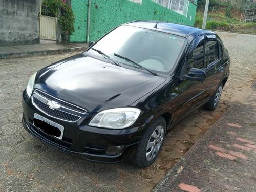 Chevrolet Prisma Lt 1.4 2012 Flex Preto