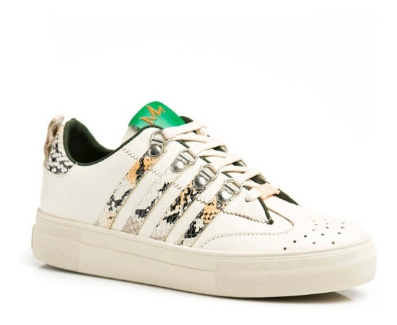 Tenis Mujer Zapatos Sneakers Zapatillas Barcelona Beige