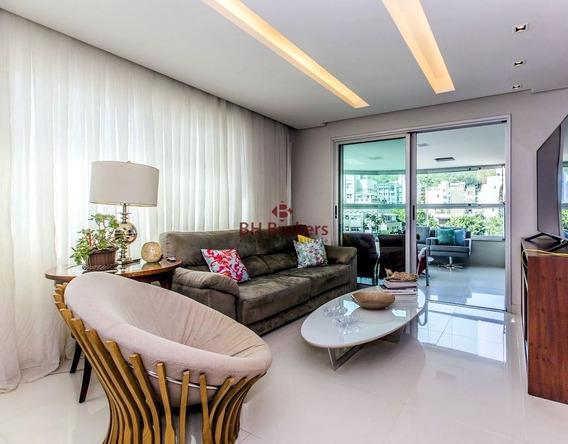 Apartamento De 4 Quartos, 160m² À Venda No Sion Por R$ 1.700.000 - 18618