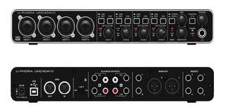 Interface Behringer U-phoria Umc404hd Envio Inmediato