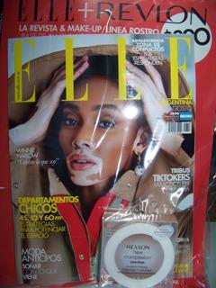 Revista Elle Con Maquillaje Agosto 2020