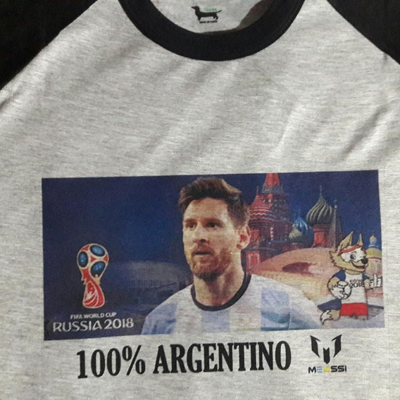 Remera Messi Niño/adulto Sublimada Futbol