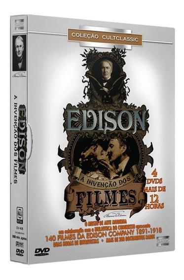 Box Original: Thomas Édison: A Invenção Dos Filmes - 4 Dvd