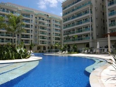Apartamento Residencial Em Rio De Janeiro - Rj, Barra Da Tijuca - Ap00764