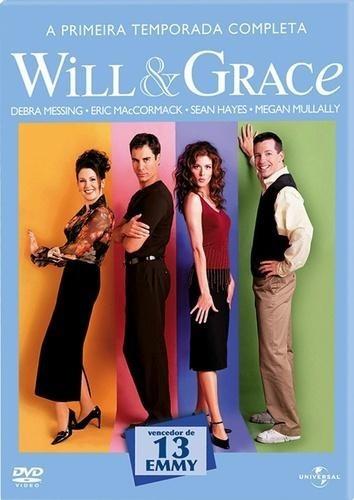 Will & Grace 1ª Temporada - Box Com 3 Dvds - Novo