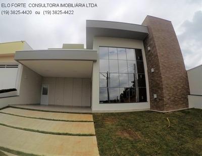 Casa Nova 3 Dormitórios À Venda No Condomínio Vista Verde Indaiatuba - Ca04481 - 33743047