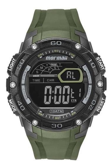 Relógio Mormaii Masculino Verde Digital Mo9670ad/8v