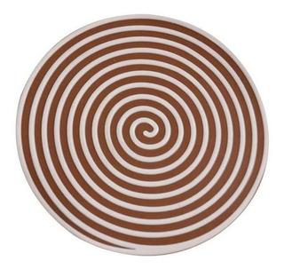 Tapa Para Coladera De Baño En Forma De Espiral Chocolate