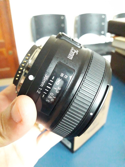 Lente 35mm 2.0 Yongnuo Para Nikon
