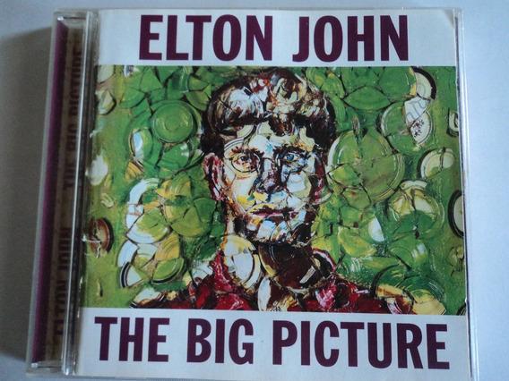 Cd-elton John:the Big Picture:rock Pop:original