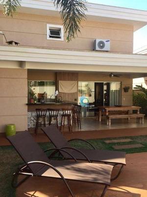 Casa Alto Padrão No Residencial Quinta Do Golfe. - Ca1139