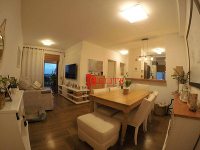 Apartamento Com 2 Dormitórios À Venda, 74 M² Por R$ 470.000 - Jardim Aquarius - São José Dos Campos/sp - Ap3681