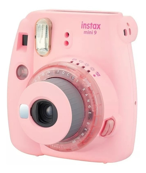 Câmera Instantânea Instax Mini 9 Rosa Chicle + 20 Filmes