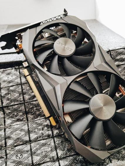 Placa De Vídeo Zotac Geforce Gtx 1070 Ti 8gb Mini